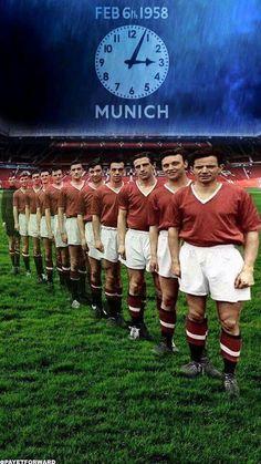 Man Utd's Busby Babes in 1957.