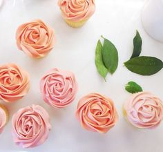 How to Make Rose Cupcakes                                                       …
