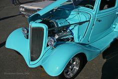 1934 Ford Coupe, custom hot rod