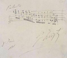 Preludio F. Liszt 8 Juin, 1841