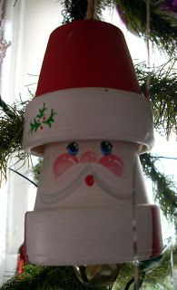 """I got this tree several years ago when I had the needlepoint shop. He was named """"Charlie"""" because we thought he resemble. Flower Pot Art, Clay Flower Pots, Flower Pot Crafts, Clay Pot Projects, Clay Pot Crafts, Holiday Crafts, Christmas Clay, Christmas Projects, Christmas Ornaments"""