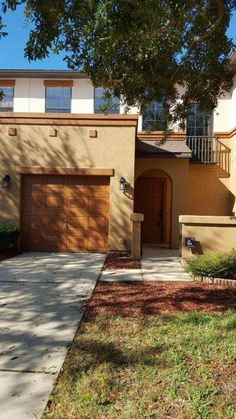 2 Bedroom, 2 & ... 1/2 bath 1,300 sq ft Townhome built in 2006 has beautiful tiled floors on 1st floor, Dining Rm, Family Rm, open Kitchen and 1/2 Bath on 1st floor. Both bedrooms, each with it's own full bath, laundry room and 2 full Baths on 2nd floor. Nice Lanai with serene backyard space. Short Sale.