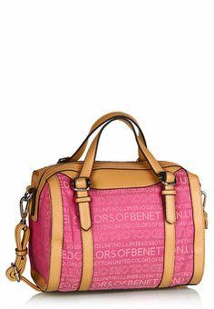 Pink Bowling Bag