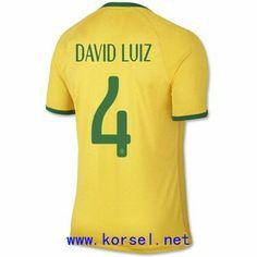 Maillot de foot Bresil Domicile Coupe du monde 2014 (4 David Luiz) Jaune Pas Cher http://www.korsel.net/maillot-de-foot-bresil-domicile-coupe-du-monde-2014-4-david-luiz-jaune-pas-cher-p-3244.html