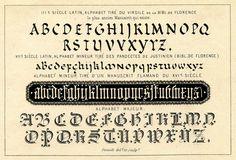 Vintage Clip Art - Typography Ephemera - The Graphics Fairy