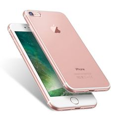 """Apple iPhone 8 Silicone Back Cover Ultra-Thin Protection Case Clear Transparent  -  Gorgeous transparent clear case, it perfectly preserves the beauty of the mobile phone. It gives the smartphone the best protection in combination with the advantage of the """"case-free"""" effect. It is a very soft and resistant material. It is capable of absorbing the shock energy. The thin silicone cover is very high-quality processed and perfectly tailored to your phone model. Due to the delicate design with…"""