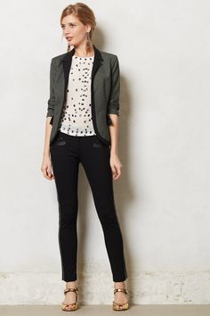 black & white business casual - chic office style