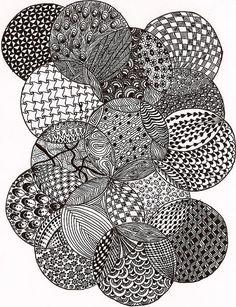 Resultado de imagen de pinterest zentangle patterns