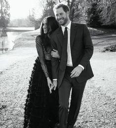 Prince Harry & Meghan Merkel's  Engagement portraits