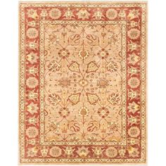 Ecarpetgallery Hand-knotted Chobi Finest and Brown Wool Rug