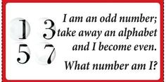 Find the number Alphabet, Numbers, Knowledge, Math Equations, Alpha Bet, Facts