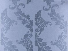 Aksu (P614/02) - Designers Guild Wallpapers - A large scale, leaf design vinyl wallpaper, shown here in graphite grey with grey leaf detailing. Please request a sample for a true colour match. Wide width wallcovering. Pattern repeat 52cm.