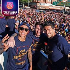 We look back at a memorable day when a hat-trick from Golden Shoe winner Luis Suárez sparked jubilance among the team and its supporters ar. Messi And Neymar, Messi Soccer, Lionel Messi, Fc Barcelona, Dani Alves, Soccer Coaching, Ronaldo, Football, Instagram