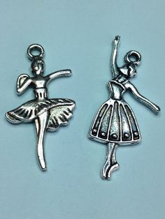 A personal favourite from my Etsy shop https://www.etsy.com/uk/listing/272116896/x-2-antique-silver-ballerina-charms
