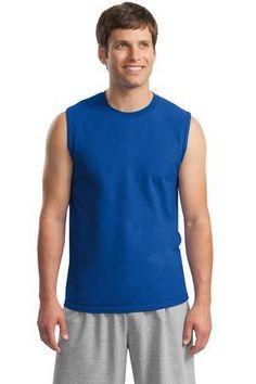 Gildan - Ultra Cotton Sleeveless T-Shirt.  2700 #tshirt #tanktop