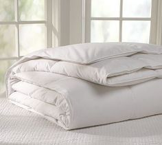 Supreme Down Comforter #potterybarn-Wrap it up this winter!