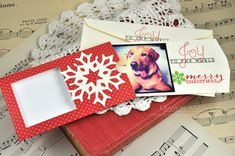 Joy To The World Photo Card by Dawn McVey for Papertrey Ink (September 2013)