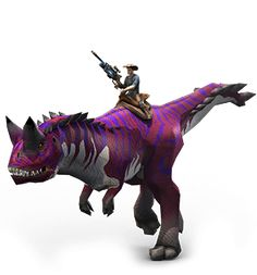 Play for free at DinoStorm.com -- Dino Storm --  Key Character 6 --- Cowboys, Dinosaurs, and laser guns!