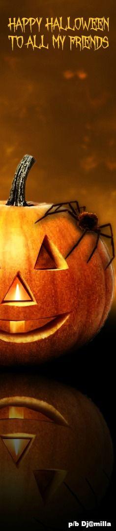 Happy Halloween To All My Friends 🎃🎃🎃 Halloween Trees, Halloween Season, Halloween Pumpkins, Happy Halloween, Halloween Decorations, Halloween Party, Haunted Halloween, Halloween Festival, Halloween Crafts