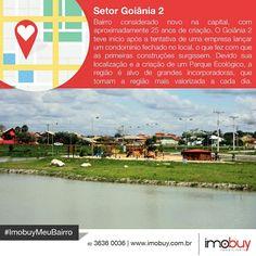 Bom dia! Conheçam um pouco mais sobre a história do Setor Goiânia 2 e o mercado imobiliário. #ImobuyMeuBairro