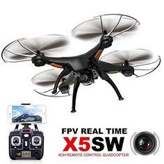 Ularmo Syma X5SW FPV de exploradores-II 2.4GHz RC Quadcopter cámara 2MP Wifi + 2 batería - http://www.midronepro.com/producto/ularmo-syma-x5sw-fpv-de-exploradores-ii-2-4ghz-rc-quadcopter-camara-2mp-wifi-2-bateria/