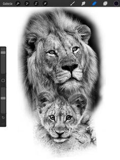 The one I like – - Tattoo Designs Men Lion Head Tattoos, Mens Lion Tattoo, Leo Tattoos, Animal Tattoos, Family Tattoo Designs, Lion Tattoo Design, Family Tattoos, Lion Tattoo Sleeves, Sleeve Tattoos