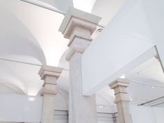 less is more. White City, Less Is More, Stairs, Architecture, Building, Inspiration, Home Decor, Style, Columns
