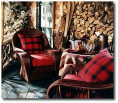 Ralph Lauren Country Cabin Looks, Keywords: Primitive Decorating, Primitive Furniture Ideas, Early American Decorating,Americana Antiques, Lodge Decorating, Cabin Decorating, Tartan, Ralph Lauren Home, Rustic Furniture, Distressed Furniture, Painted Furniture