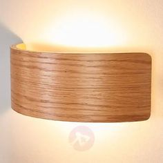 Buy Wooden LED wall lamp Rafailia, natural optics ✓Top-rated service ✓Comfortable & secure payment Years of experience ✓Order now! Wooden Wall Lights, Led Wall Lights, Wooden Walls, Hanging Lights, Coastal Lighting, Home Lighting, Up Down Wall Light, Veneer Panels, Led Wall Lamp