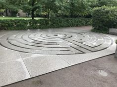Discover Harvard Divinity School Labyrinth in Cambridge, Massachusetts: This hidden labyrinth offers walkers some brief peace of mind. Divinity School, Harvard, Massachusetts, Cambridge, Stepping Stones, Labyrinths, Outdoor Decor, College Graduation, Spirals