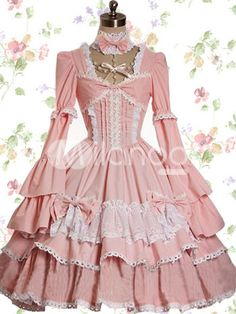 Lolita. Dress. White. Pink. | 2-Best-Sisters | Pinterest | Pink