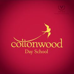#CottonwoodDaySchool is #Bozeman #Montana 's first #school for children with #learning dis-ABILITIES. Check them out at: cottonwooddayschool.org #Logo #design by #Vegacreations ™