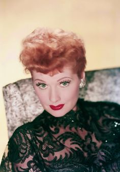 Lucille Ball. <3 I love this pic so much!!