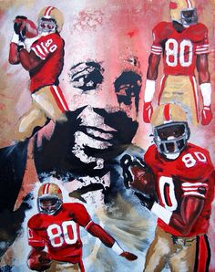 Jerry Rice art