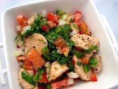Cinco Quartos de Laranja: Salada de ovas de bacalhau