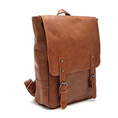 Leather-Like LYFIE Vintage Women's Backpack School Bag