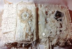 fabric journal pages