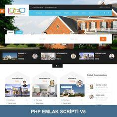 Hazır Emlak Sitesi Scripti. Mobil Uyumlu Emlak Scripti V5 Php, Desktop Screenshot