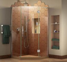 DreamLine Prime Frameless Sliding Shower Enclosure And SlimLine 36 Inch Quarter  Round Shower Floor (White Base)   Products   Pinterest   Shower Enclosure,  ...