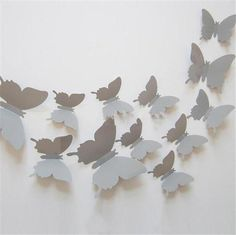 12 Pcs/Lot PVC DIY Butterfly Wall Stickers Home Decor Poster for Kitchen Bathroom Fridge Adhesive to Wall Decals Decoration 3d Butterfly Wall Decor, Diy Butterfly, 3d Butterfly Wall Stickers, Butterfly Decorations, Butterfly Design, Decoration Stickers, Wall Stickers Home Decor, Diy Papillon, Art Mural Papillon
