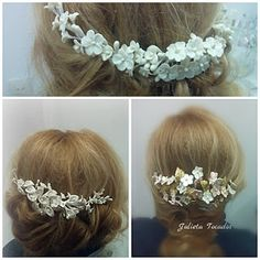 Resultado de imagen de cinturones flores porcelana fria novias