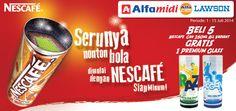 Lawson: Beli 5 Nescafe Can 250ml Gratis 1 Premium Glass @LawsonIndonesia