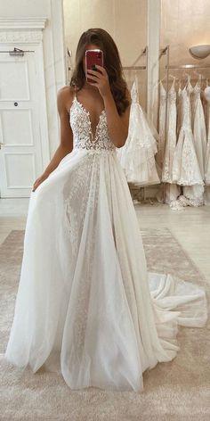 2nd Wedding Dresses, Cute Prom Dresses, Cute Wedding Dress, Wedding Dress Trends, Mermaid Dresses, Pretty Dresses, Beautiful Dresses, Elegant Dresses, Gown Wedding
