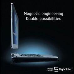 Samsung Series 5 Hybrid PC - Nouveau PC Portable Hybride écran tactile de 11,6 pouces !