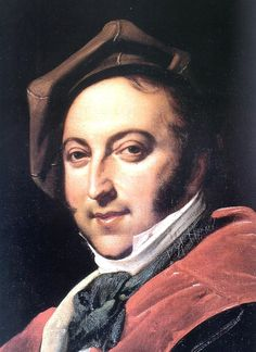 Gioachino Antonio Rossini (1792 –1868) was an Italian composer who wrote 39 operas as well as sacred music, chamber music, songs, and some instrumental and piano pieces. His best-known operas include the Italian comedies Il barbiere di Siviglia (The Barber of Seville) and La Cenerentola and the French-language epics Moïse et Pharaon and Guillaume Tell. Until his retirement in 1829, Rossini had been the most popular opera composer in history.