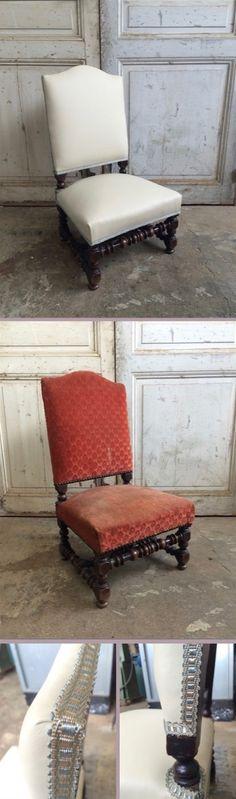 L'atelier de la Marquise: Chaise Louis XIII