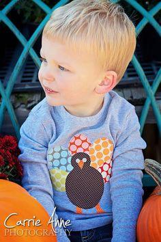 Turkey Love Kids Thanksgiving Turkey Shirt on Etsy, $26.00