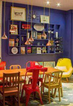 Pinte parede e móveis da mesma cor! - dcoracao.com - blog de decoração