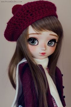 Welcome to Poison Girl's Dolls! I'm María and customizing dolls is my passion. Pullip & Blythe custom dolls for sale in my shop. Cute Girl Drawing, Cartoon Girl Drawing, Blythe Dolls, Girl Dolls, Cute Kids Pics, Cute Cartoon Girl, Cute Baby Dolls, Cute Kawaii Drawings, Cute Girl Wallpaper