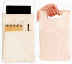 Carry your tablet in a sleek, simple carrycase
